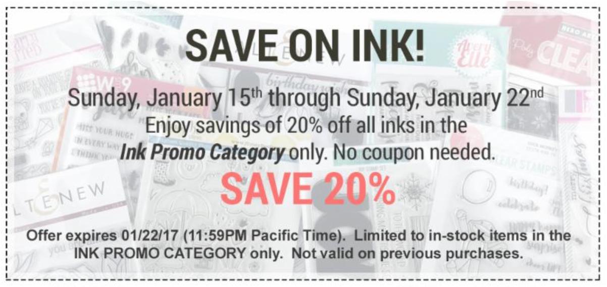 Ellen Hutson Ink Sale!
