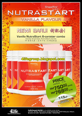Vanilla NutraStart New Combo!