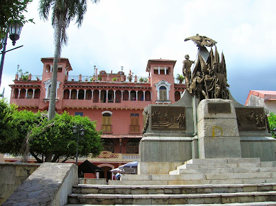 Plaza Bolivar, Casco Viejo, Panamá, round the world, La vuelta al mundo de Asun y Ricardo, mundoporlibre.com