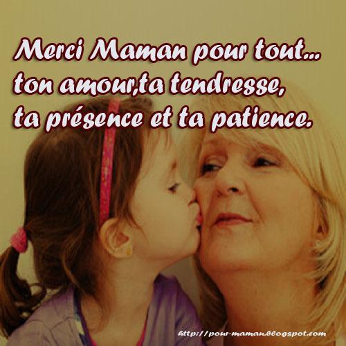 Citation d amour pour sa maman