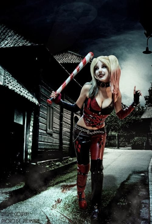 Gabriela Almeida Shermie deviantart cosplay beautiful girl games comics sensual Harley Quinn (Batman)