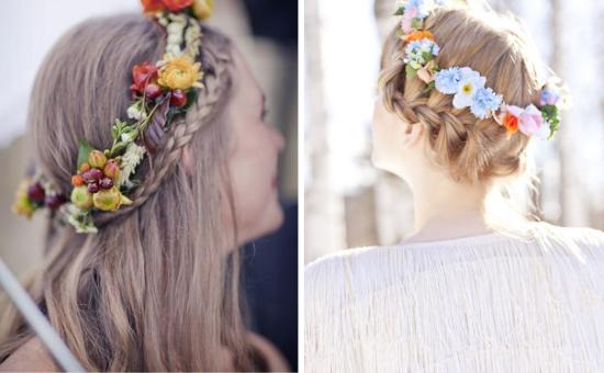bridal braids, nuovi trend per la sposa, acconciature da sposa