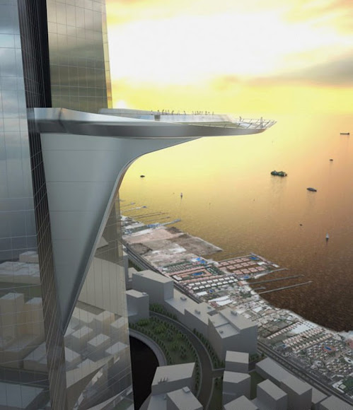 Observatório do prédio mais alto do mundo