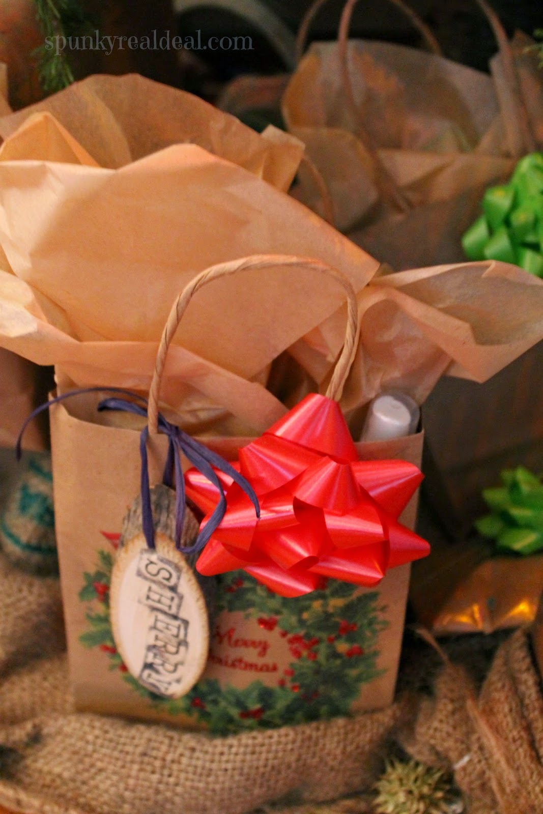 Rustic Presents Gift Wrapping