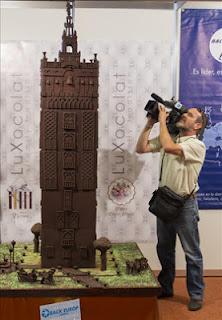 Giralda de chocolate en el Salón Back Europ