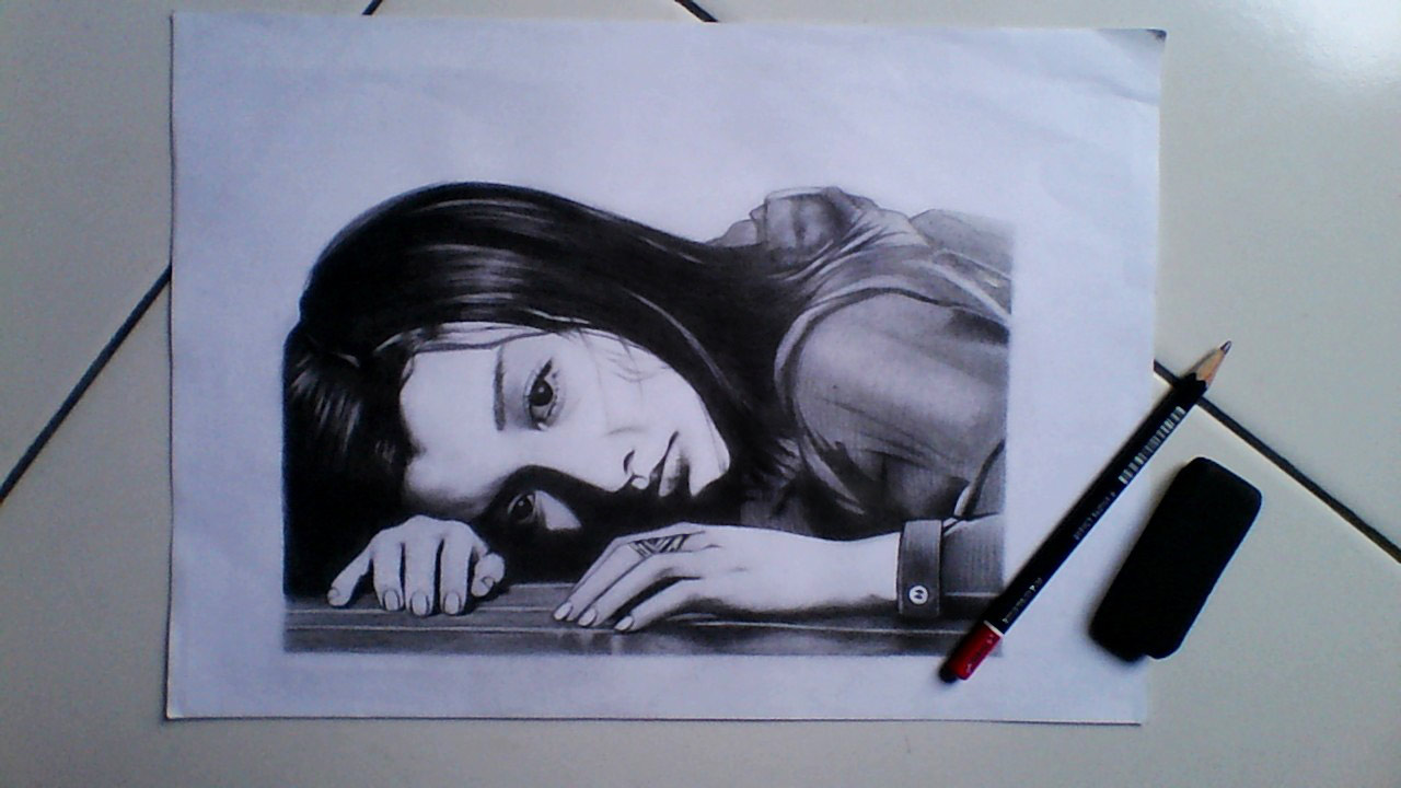 Teknik menggambar sketsa wajah