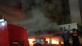 Kebakaran Medan Plaza