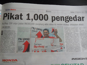 Harian Metro 27 Nov 2012 Nu-Prep 100