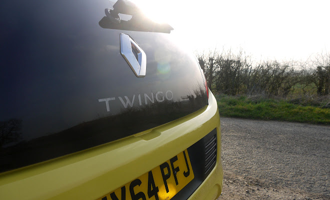 Renault Twingo boot badge