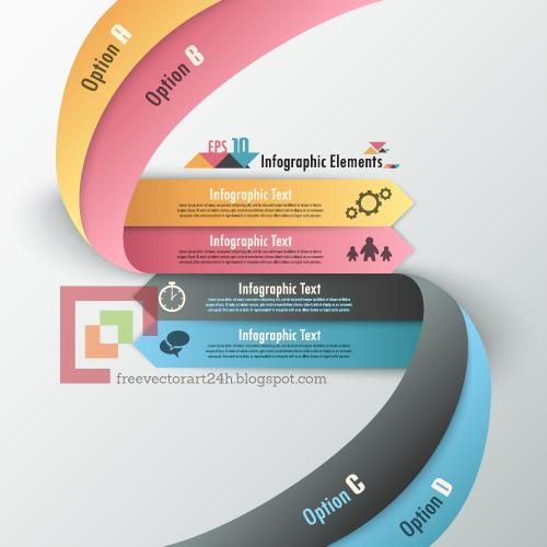 [Vector] Modern infographics