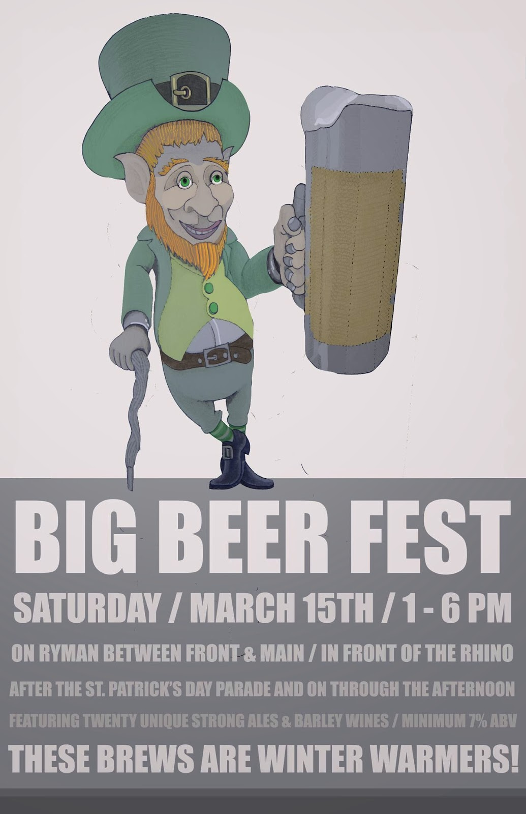 Big Beer Fest - The Rhino - Missoula