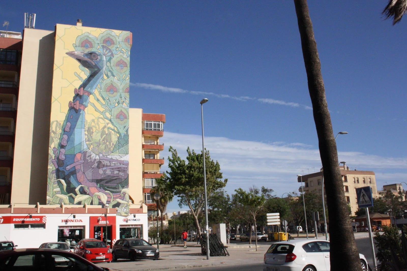 Sanlucar de Barrameda Spain  City pictures : streetartnews aryz Sanlucar de Barrameda Spain 6