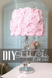 DIY SHABBY CHIC LAMP SHADE