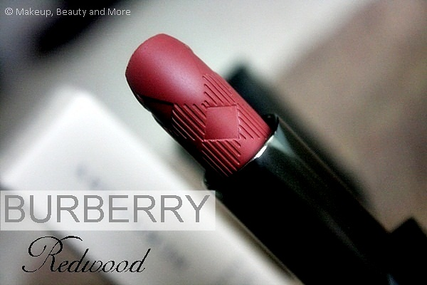Burberry Lip Velvet Long-Wear Lipstick in Redwood