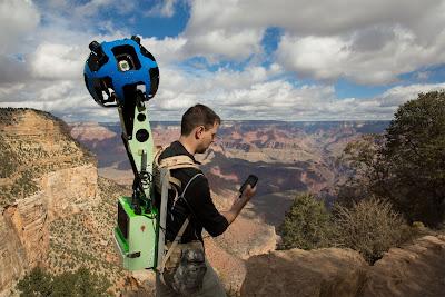 Trekking Grand Canyon Google Maps