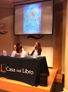 Patricia and I at our Casa del Libro event. (Thanks, Jorge)