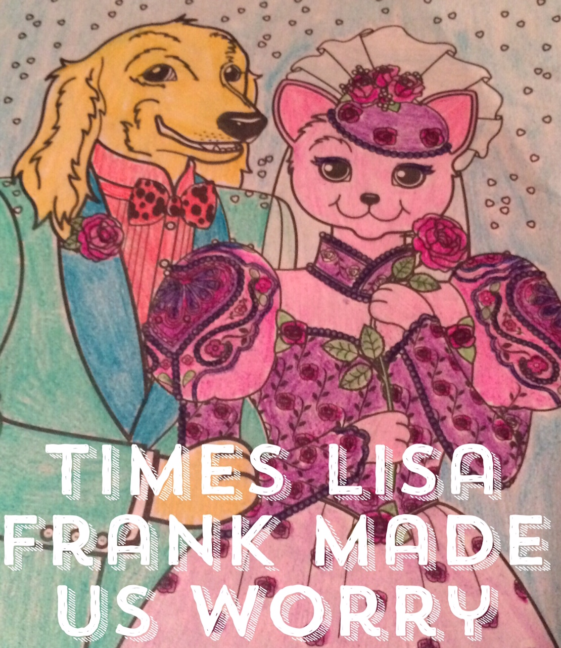 that girl in the wheelchair: 9 Times Lisa Frank Made us worry via ...
