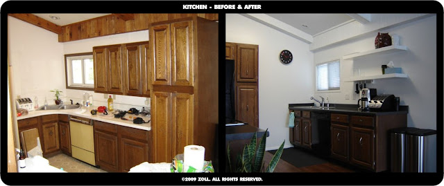 ©2009 Zoll - kitchen before and after