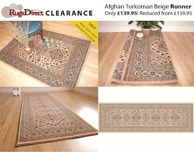Afghan  9595-11 Turkoman Beige (67cm x 330cm)