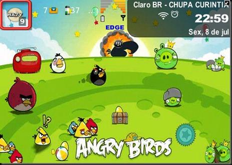 Aquí está el tema de este excelente juego. Que los disfruten. Descarga: 85xx/93xx – OS 5Tema: Angry Birds para 85xx / 93xx SO5.093xx – OS 6Tema: Angry Birds para 93xx SO6.0 96xx/97xx – OS 6Tema: Angry Birds para 96xx / 97xx SO6.0 9800Tema: Angry Birds para 98xx Fuente:blackberry Adictos