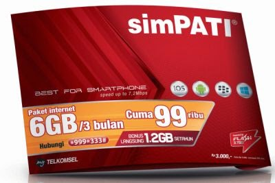Paket Internet Telkomsel 6 GB