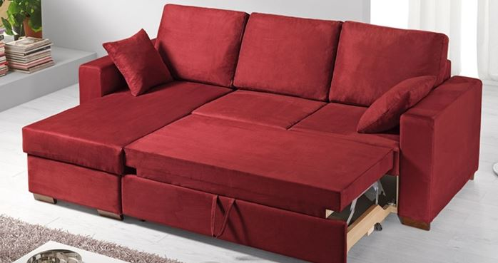 Arredo a modo mio il divano letto orlando moderno ed for Divano mondoconvenienza