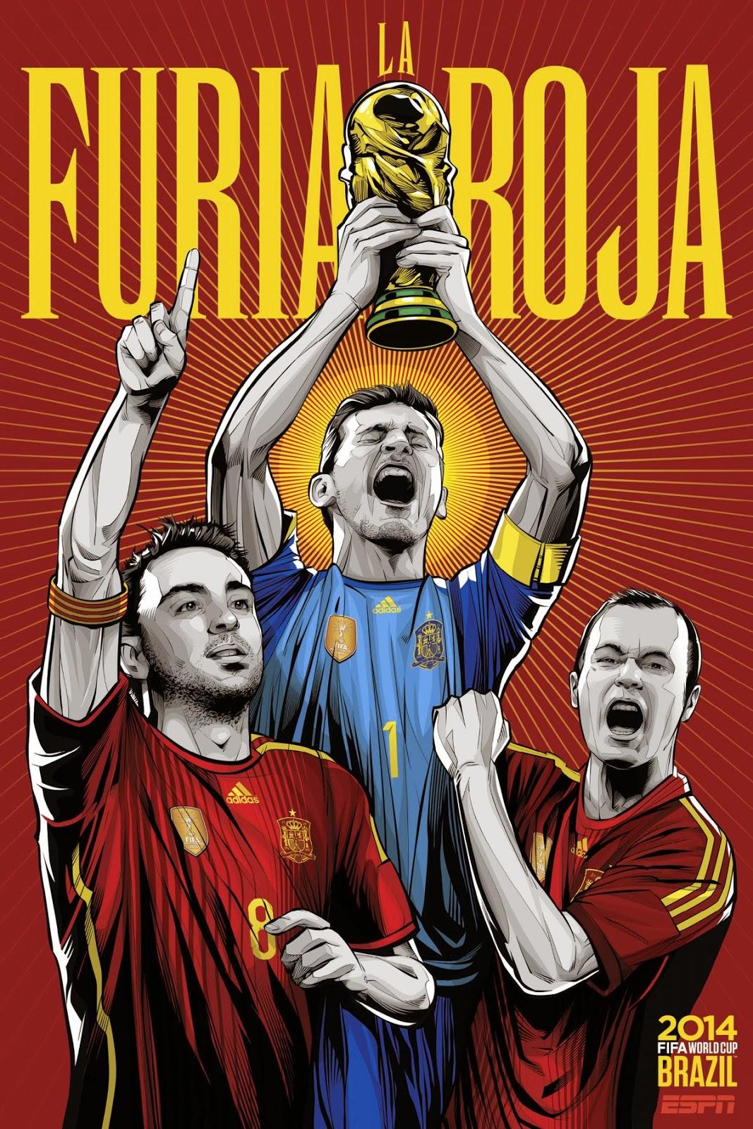 Spain Team FIFA 2014