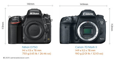 Nikon D750 review, Canon vs Nikon, Canon EOS 7D Mark II vs Nikon D750, Canon EOS 7 Mark II, full frame camera, Full HD video,