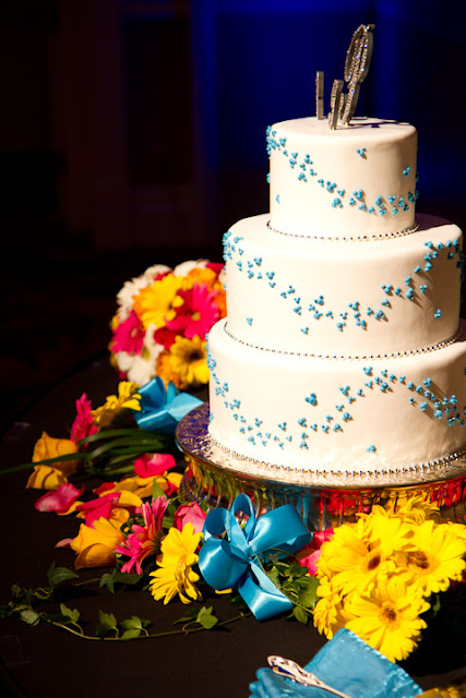 Mickey Inspired Wedding Cake via Disney Wedding Inspiration
