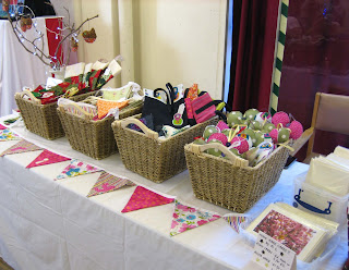 Photo of craft stall with baskets