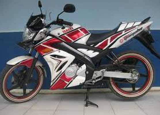 Modifikasi Cutting Sticker Yamaha Vixion