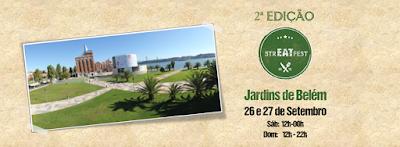 2ª edição da Str.eat fest. comida de rua Lisboa Jardins Belem Museu Eletricidade