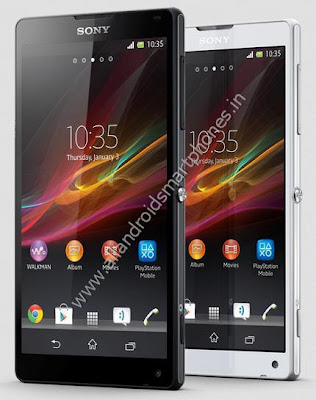 Sony Xperia ZL Android Smartphone Front Images & Photos Review.