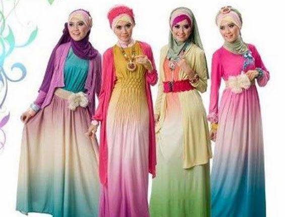 Model baju pesta modern ala anak muda dan hijabers Baju gamis terbaru anak muda