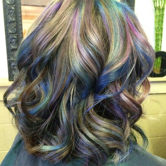 Who Said That Brunettes Can T Have Colorful Hair Oil