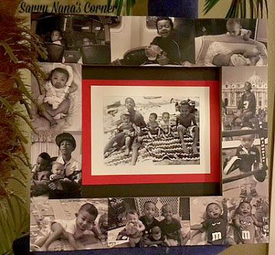 Photo Decoupage Frame
