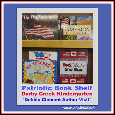 photo of: Patriotic picture books, Red White and Blue by Debbie Clement