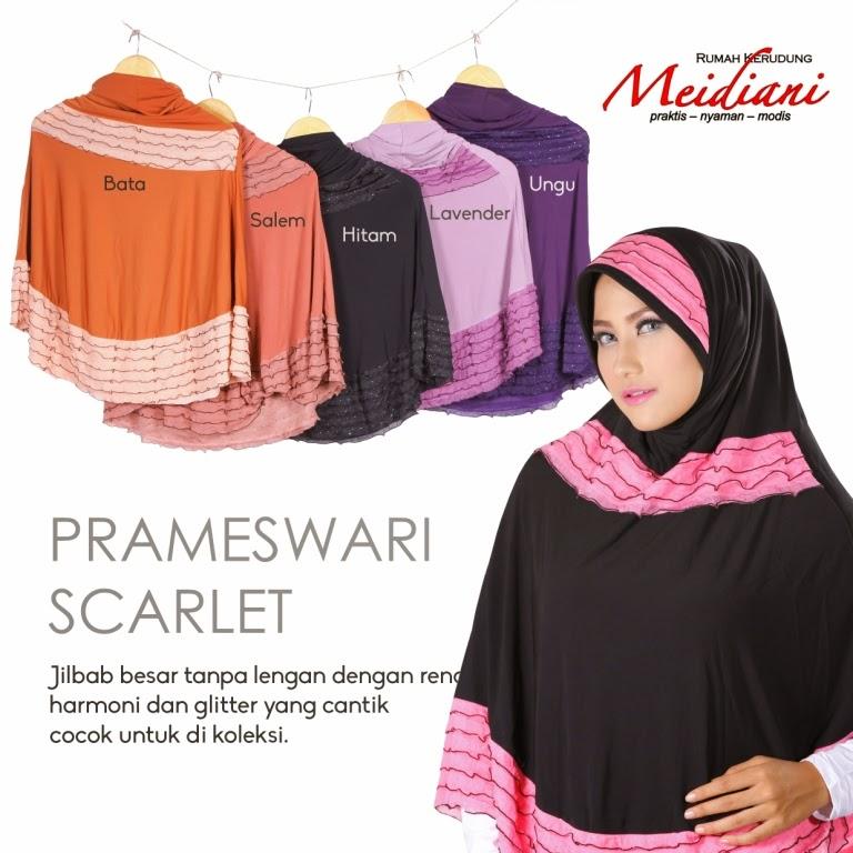 Prameswari scarlet
