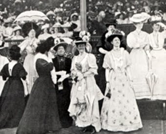 spring racing season fashion throughout history, melbourne cup 1861