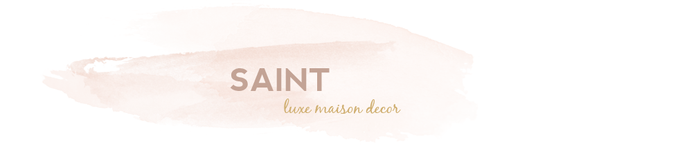 SAINT luxe maison decor
