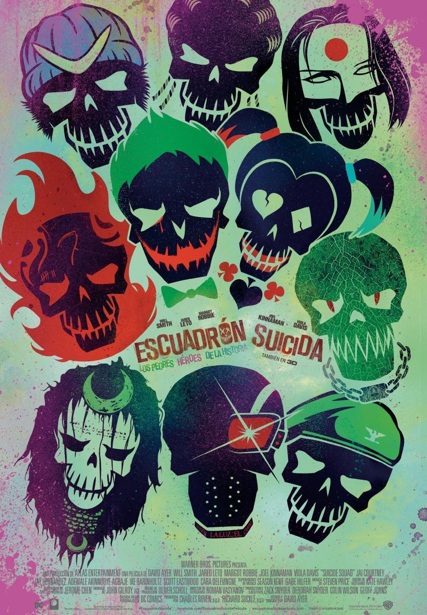 Escuadrón Suicida (2016) HD 1080p Latino / Ingles