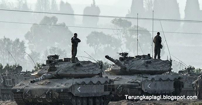 Takut dan Cemas, Tentara Israel tahan Kencing dan BAB dengan Pembalut