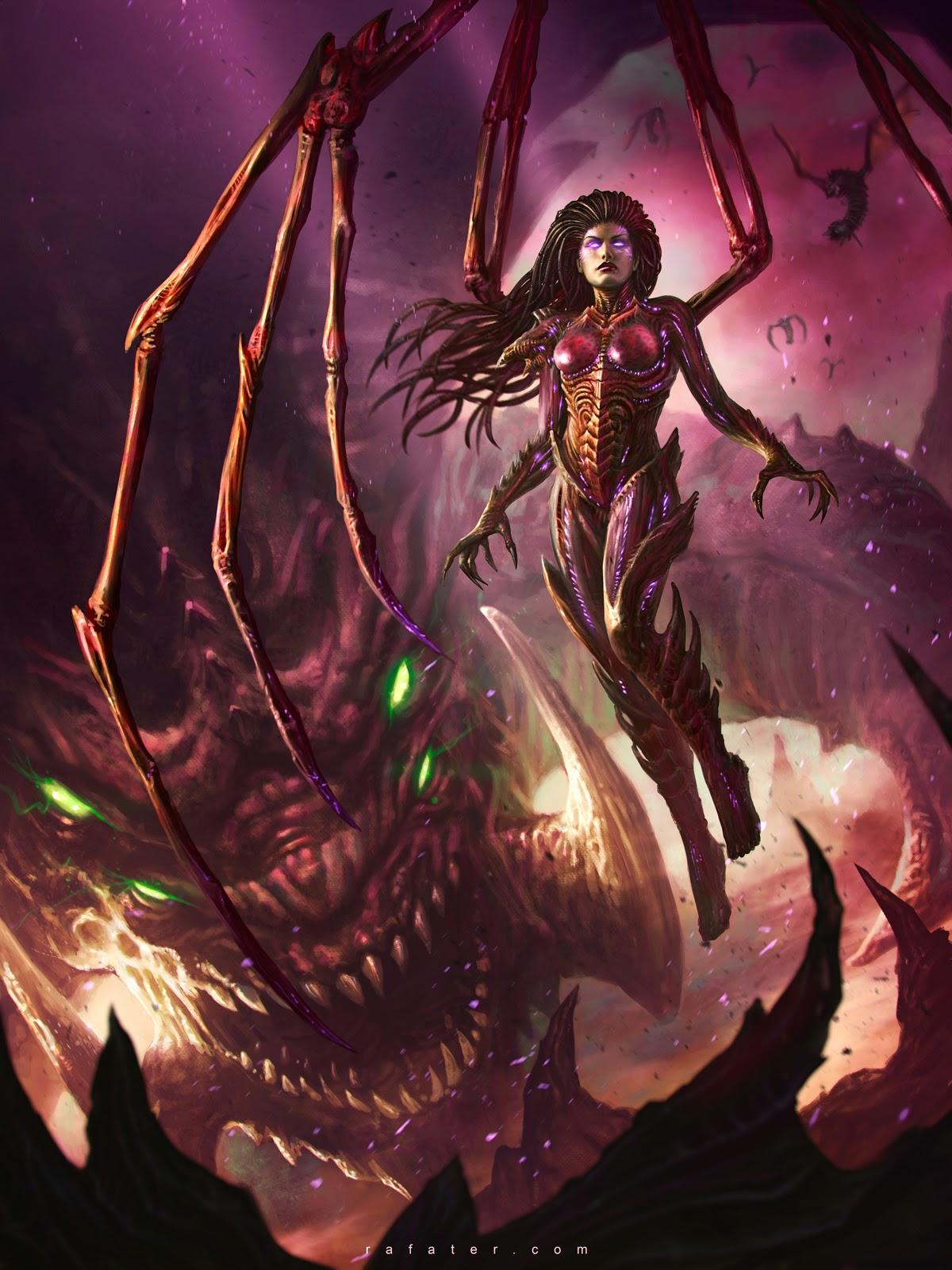 Kerrigan Queen of Blades by Rafater