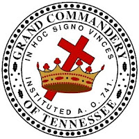 Knights Templar symbol cross and crown