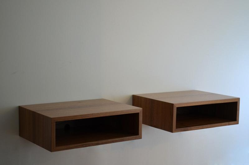 Tyler Mckenzie woodwork Floating consoles and nightstands