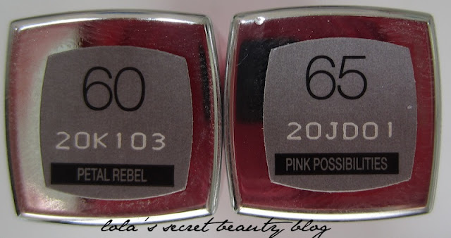 lola's secret beauty blog: Maybelline Color Whisper by Color Sensational: Petal Rebel and Pink Possibilities Review & Swatches
