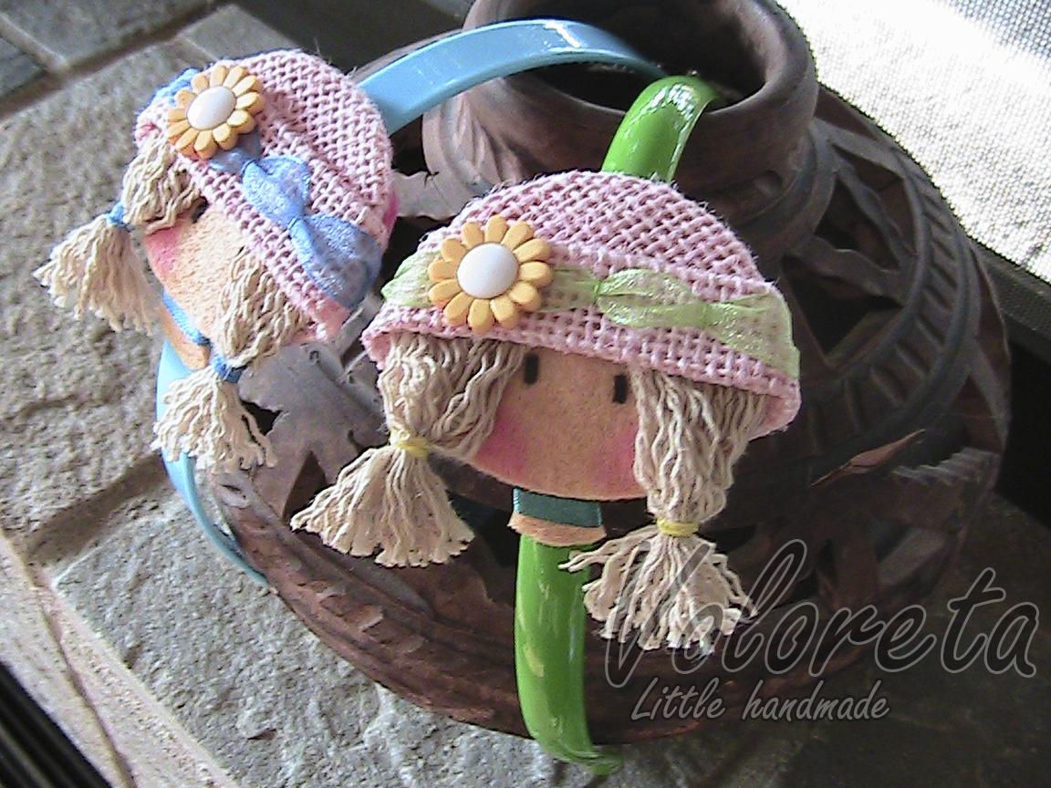 tenia pendiente el hacer estas diademas son para dos princesas que se llaman claudia y ainhoa