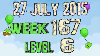 Angry Birds Friends Tournament level 6 Week 167