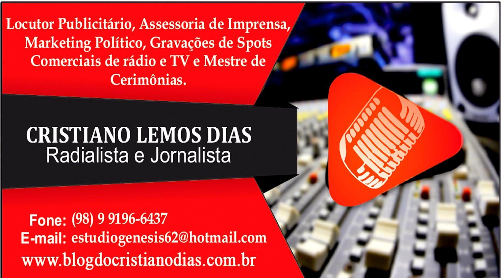 PUBLICIDADE/CRISTIANO DIAS