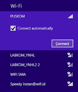 Cara Masukkan Password WiFi yang Baru